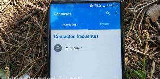 Gestor de contactos para Android